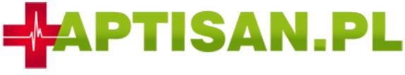 Logo APTISAN.PL, apteka internetowa z siedzibą w Nysie